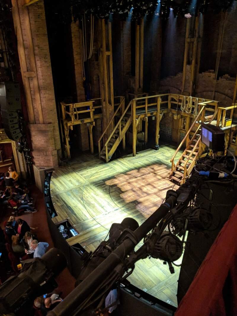 Vista sentada para CIBC Theatre Secção Mezzanine Box 6 Lugar 2