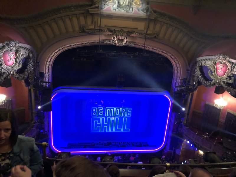 Vista sentada para Lyceum Theatre (Broadway) Secção Balcony C Fila D Lugar 111