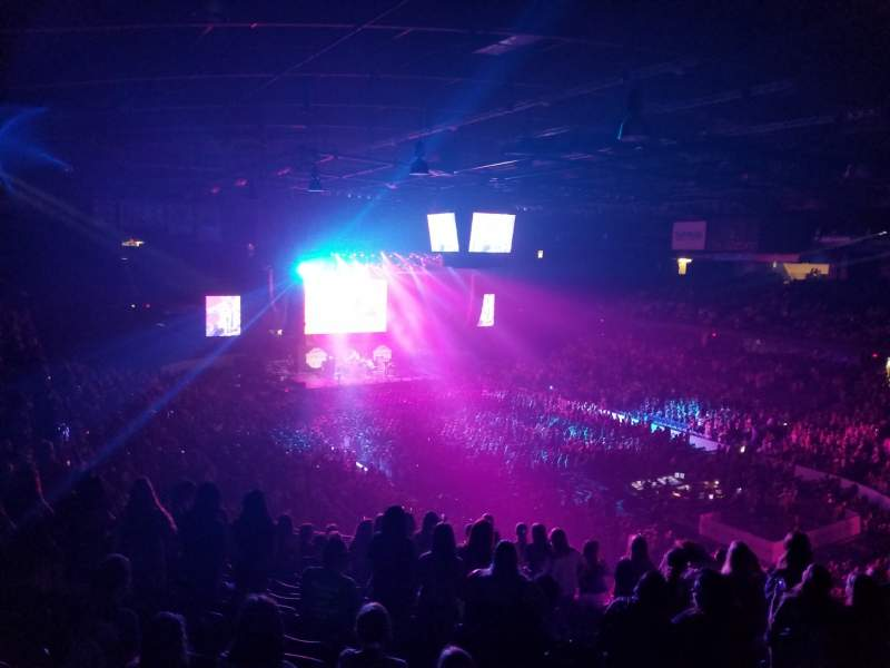 Vista sentada para Allstate Arena Secção 216 Fila O Lugar 32