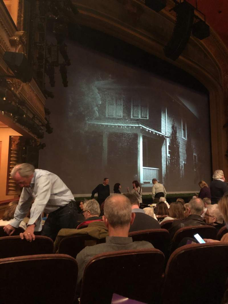 Vista sentada para American Airlines Theatre Secção Orchestra L Fila J Lugar 17
