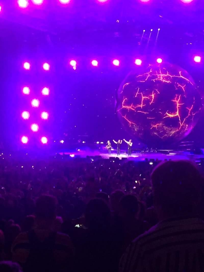 Vista sentada para Arena Birmingham Secção 3 Lower Fila L