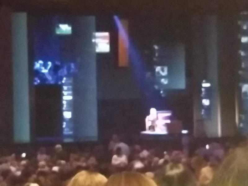 Vista sentada para Fox Theatre (Atlanta) Secção Orchestra LC Fila PP Lugar 67