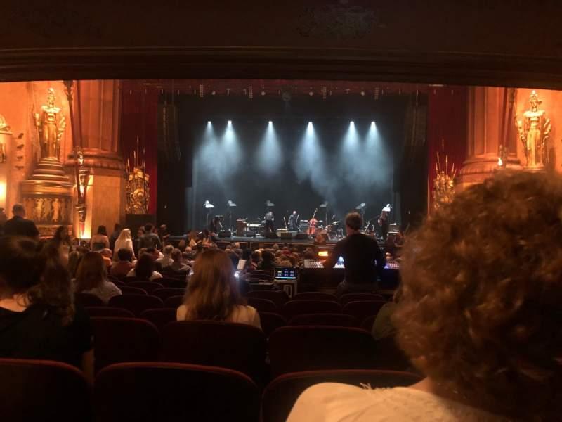 Vista sentada para Beacon Theatre Secção Orchestra C Fila V Lugar 108