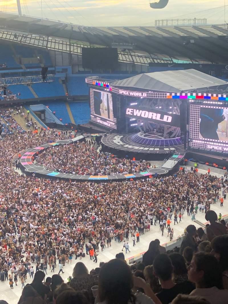 Vista sentada para Etihad Stadium (Manchester) Secção 307 Fila As Lugar 199