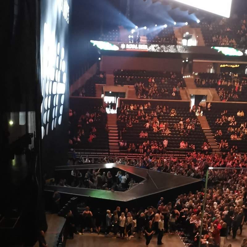 Vista sentada para Royal Arena Secção 117 Fila 24 Lugar 362