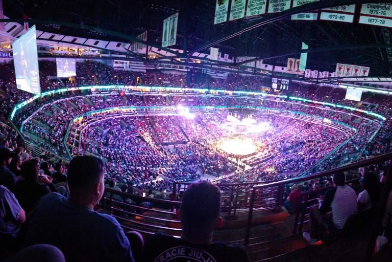 Vista sentada para United Center  Secção 305 Fila 11 Lugar 1