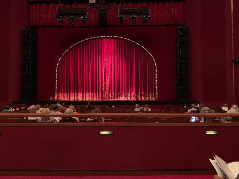 Vista sentada para The Kennedy Center Opera House Secção Orchestra Fila S Lugar 110