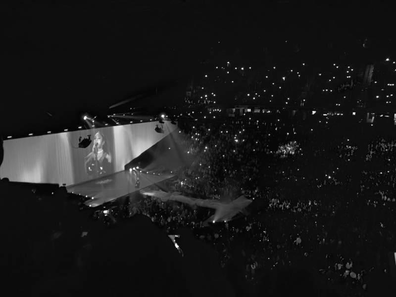 Vista sentada para Manchester Arena Secção 205 Fila N/A Lugar N/A