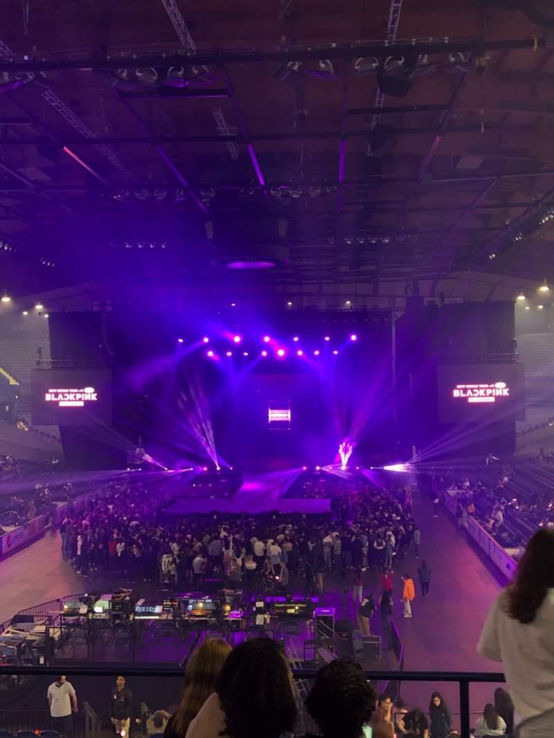Vista sentada para Allstate Arena Secção 214 Fila E Lugar 21