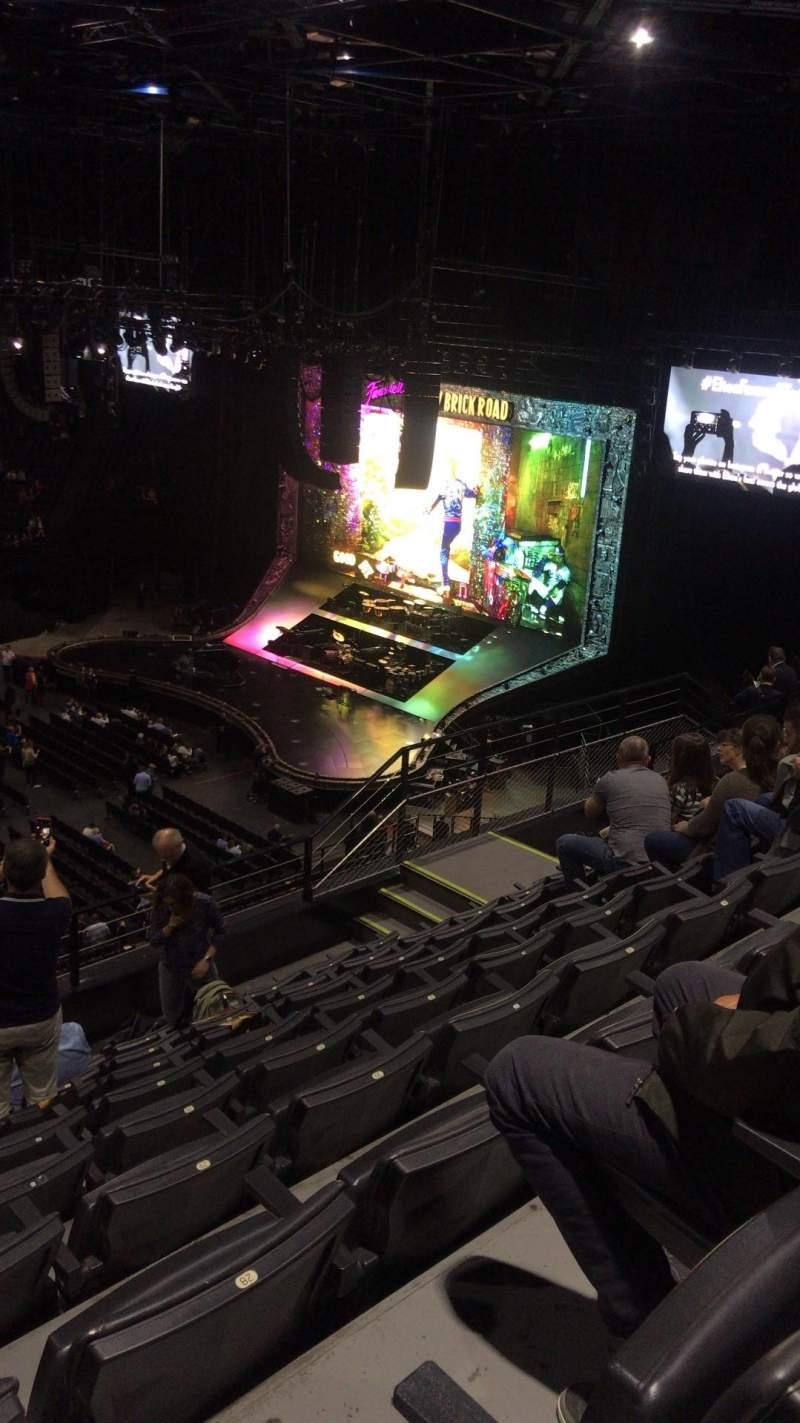 Vista sentada para AccorHotels Arena Secção E Fila 89 Lugar 25