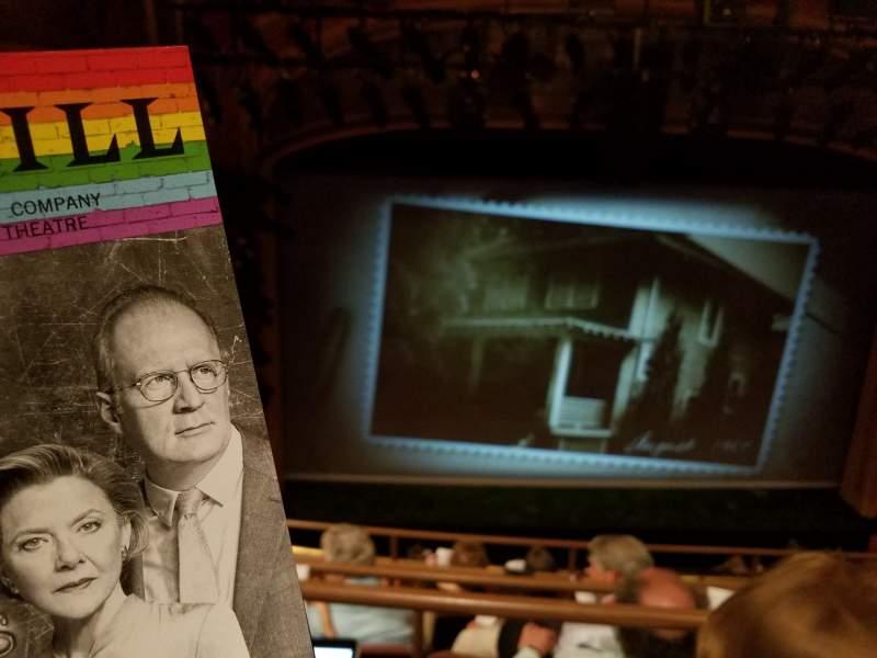 Vista sentada para American Airlines Theatre Secção Rear Mezzanine Fila E Lugar 127