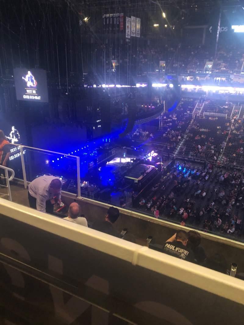 Vista sentada para PHX Arena Secção 219 Fila 6 Lugar 11-12