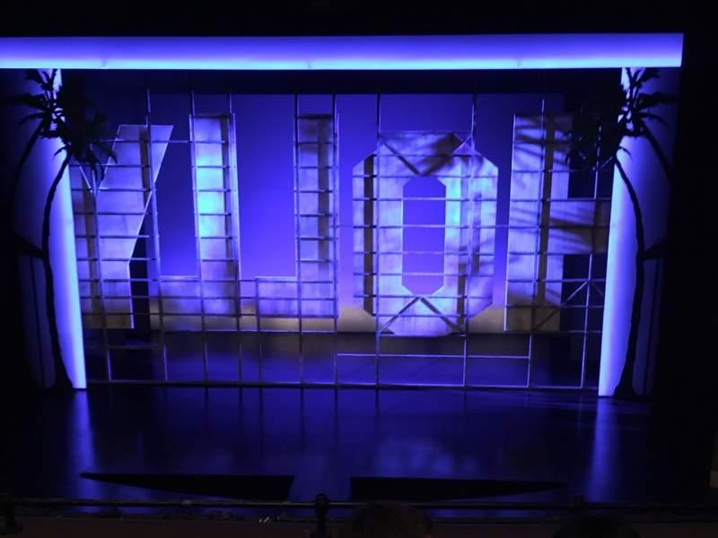 Vista sentada para Nederlander Theatre Secção Mezzanine C Fila E Lugar 106