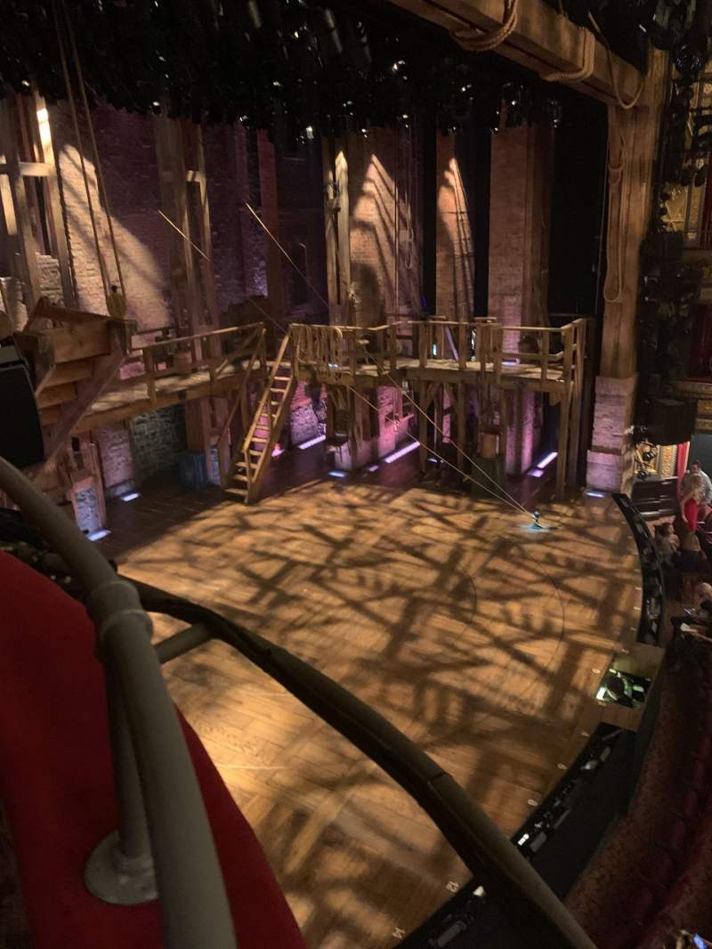 Vista sentada para Richard Rodgers Theatre Secção Box E Fila Box E Lugar 3