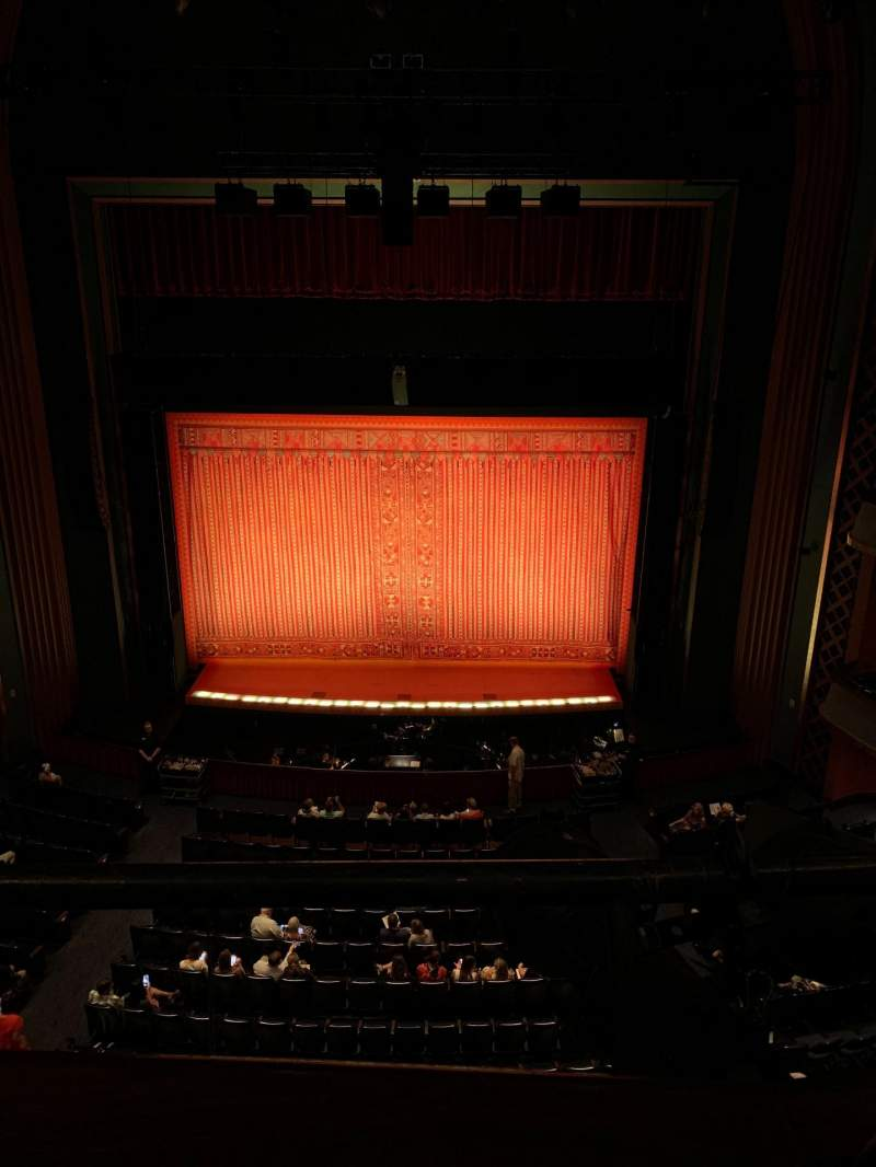 Vista sentada para Sarofim Hall Secção Center Balcony Fila A Lugar 112