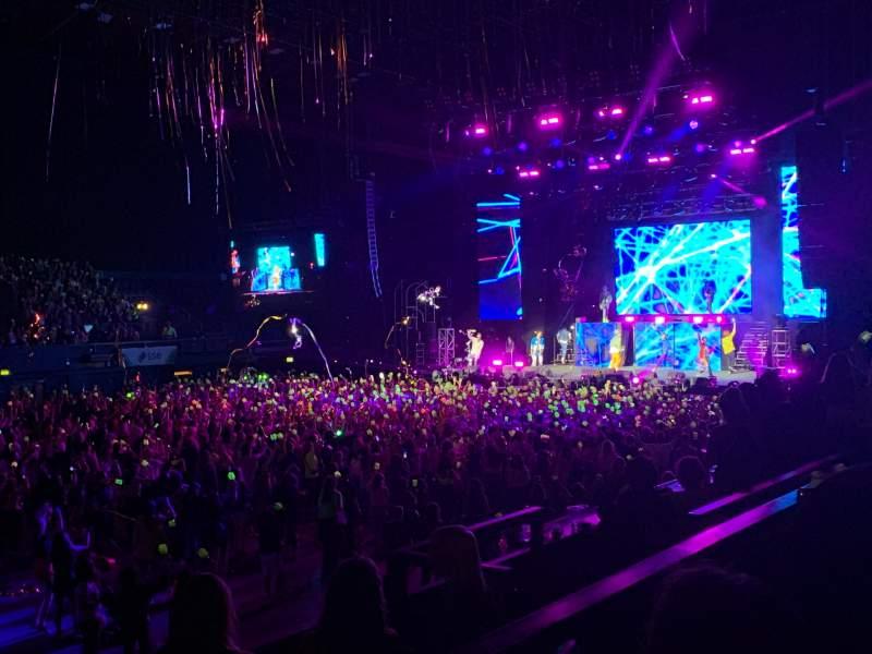 Vista sentada para SSE Arena, Wembley Secção N10 Fila D Lugar 101