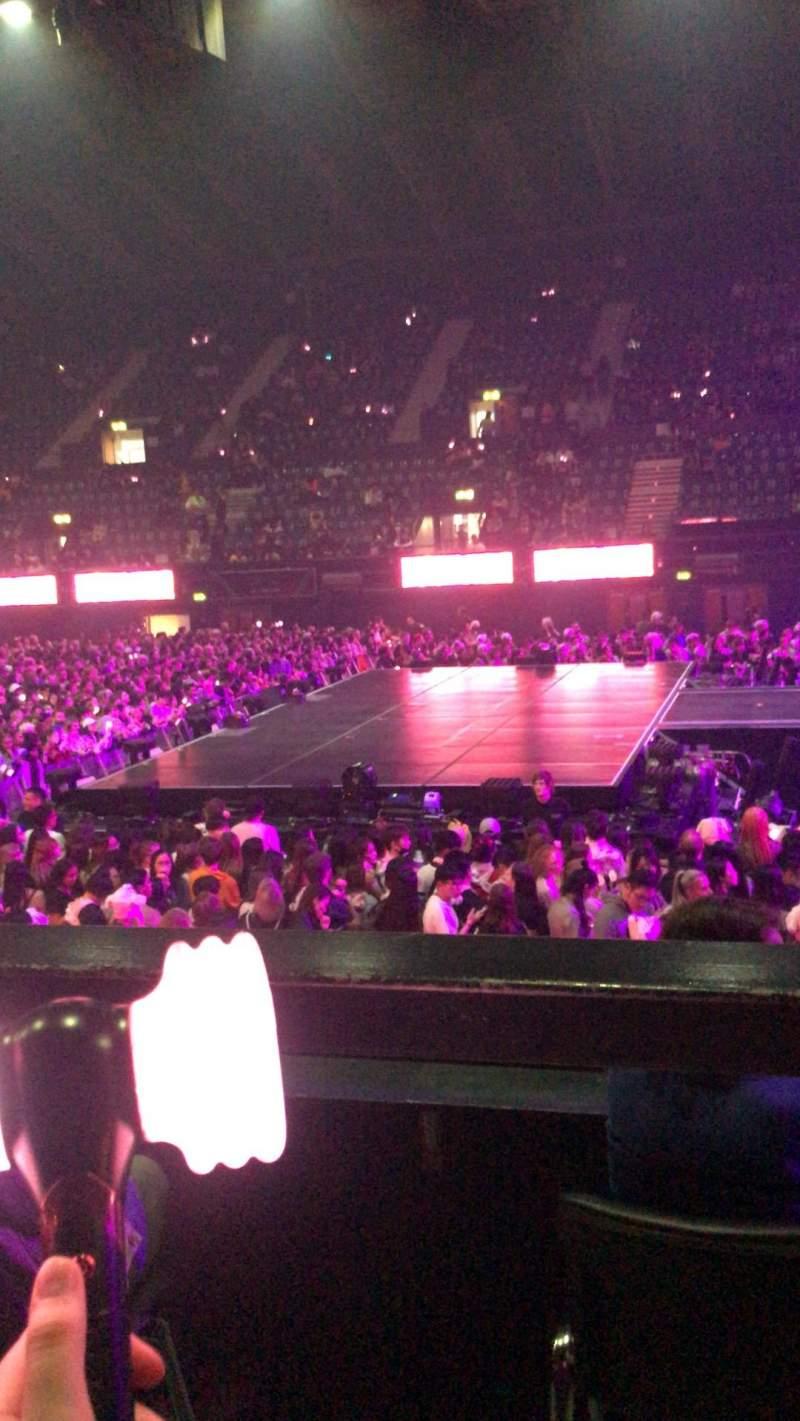 Vista sentada para SSE Arena, Wembley Secção N8 Fila C Lugar 69