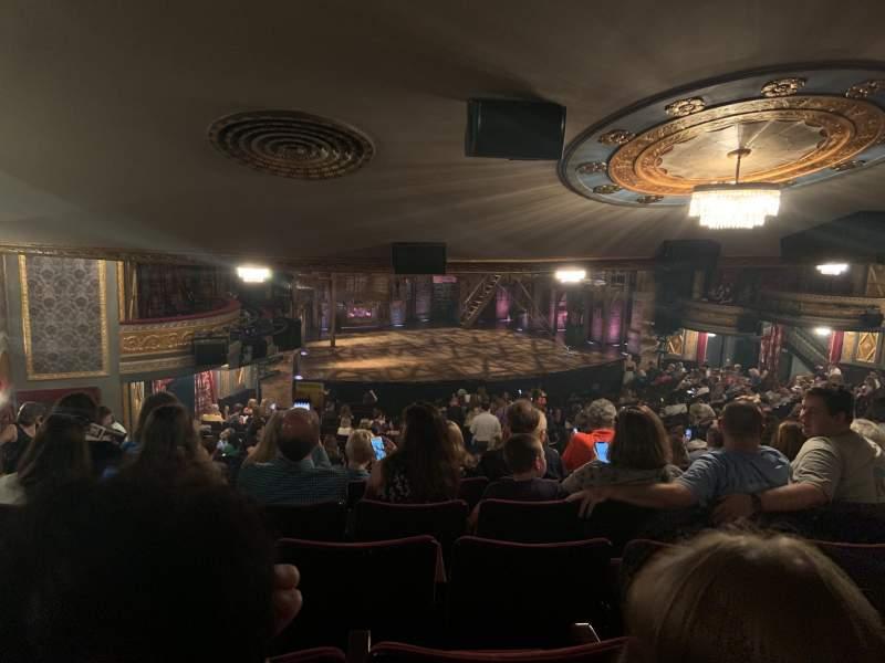 Vista sentada para Richard Rodgers Theatre Secção Orchestra L Fila X Lugar 25