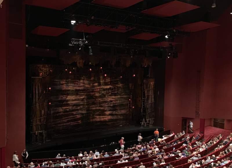 Vista sentada para San Diego Civic Theatre Secção LLOGL2 Fila N Lugar 9