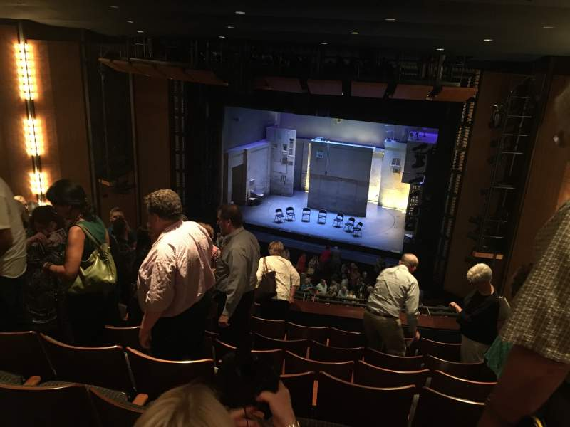 Vista sentada para The Kennedy Center Eisenhower Theater Secção Balcony Fila G Lugar 12