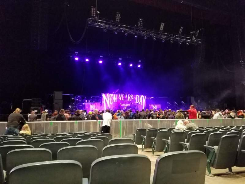 Vista sentada para BB&T Pavilion Secção 103 Fila K Lugar 3-4