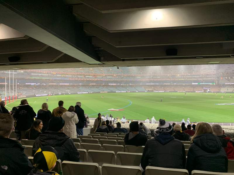 Vista sentada para Melbourne Cricket Ground Secção M42 Fila Kk Lugar 11