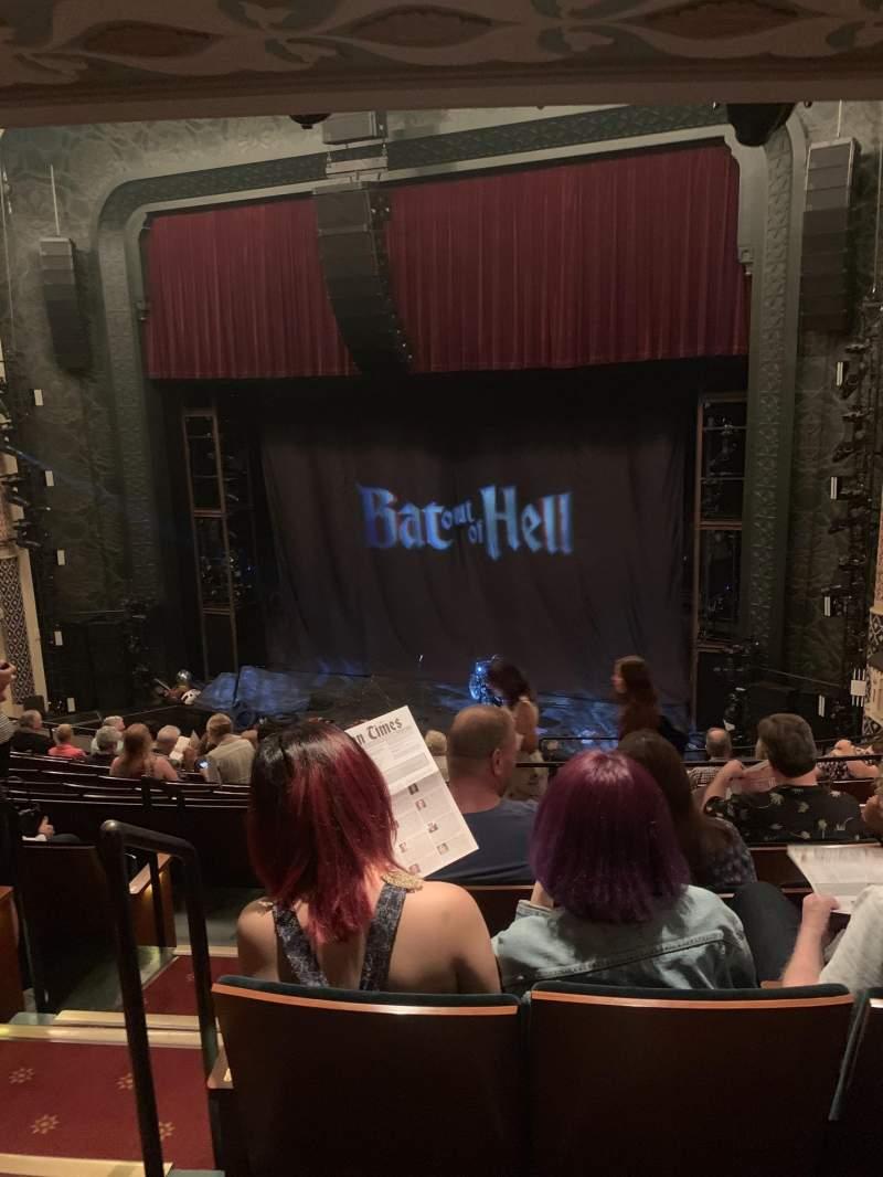 Vista sentada para Mainstage at the New York City Center Secção Mezz right Fila E Lugar 4