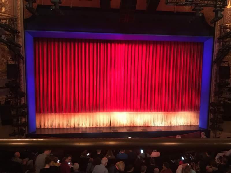 Vista sentada para Longacre Theatre Secção Mezzanine C Fila A Lugar 110
