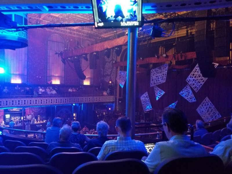 Vista sentada para The Tabernacle Secção 203 Fila F Lugar 1