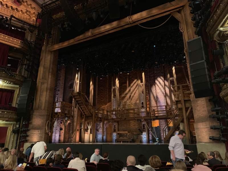 Vista sentada para CIBC Theatre Secção Orchestra R Fila L Lugar 8