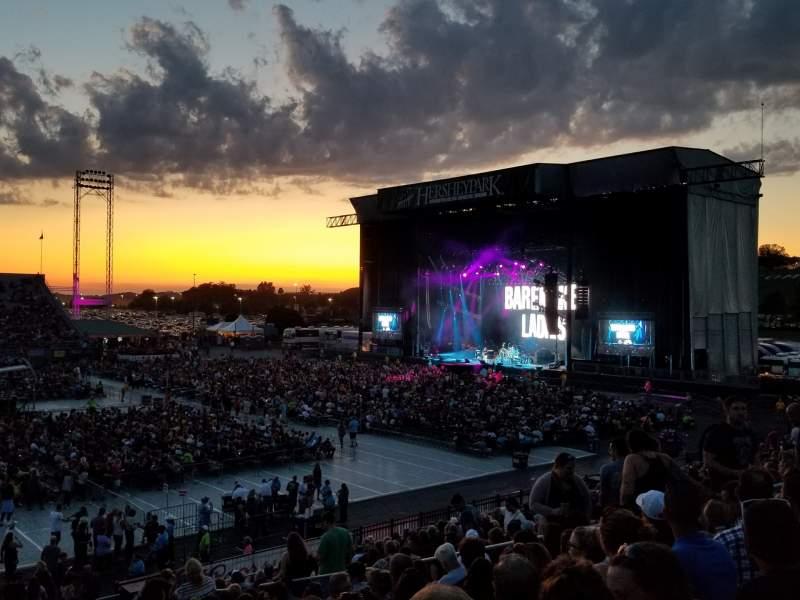 Vista sentada para Hershey Park Stadium Secção 27 Fila P Lugar 13