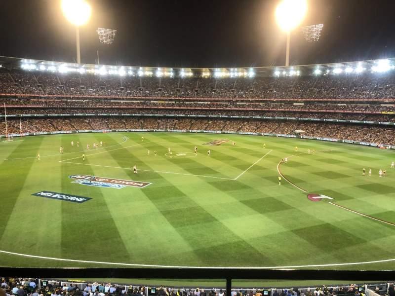 Vista sentada para Melbourne Cricket Ground Secção P42