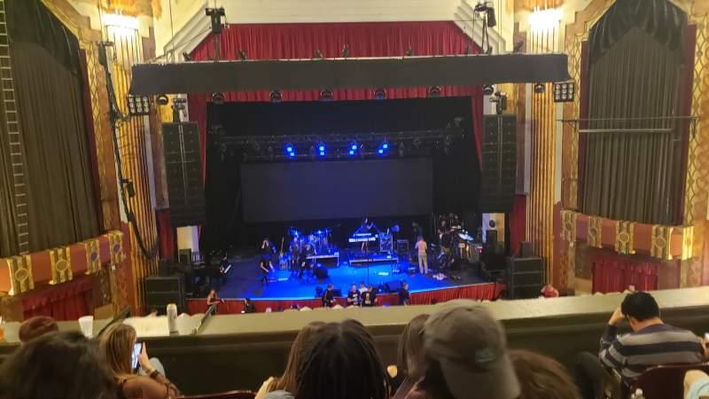 Vista sentada para Paramount Theatre (Denver) Secção MEZZL Fila E Lugar 2