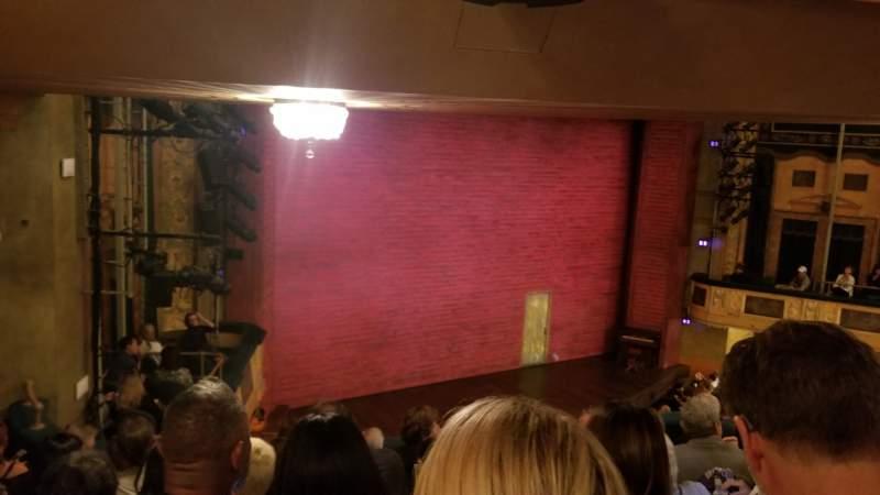 Vista sentada para Shubert Theatre Secção Mezzanine L Fila G Lugar 23 and 25
