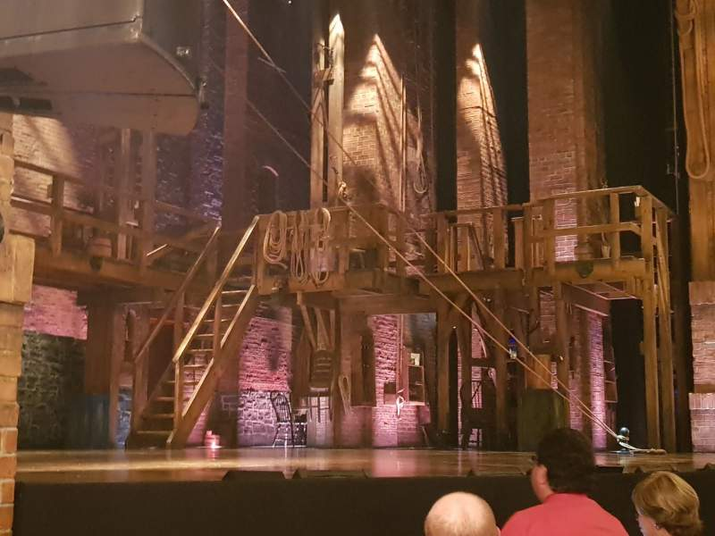 Vista sentada para Richard Rodgers Theatre Secção Orchestra L Fila D Lugar 21