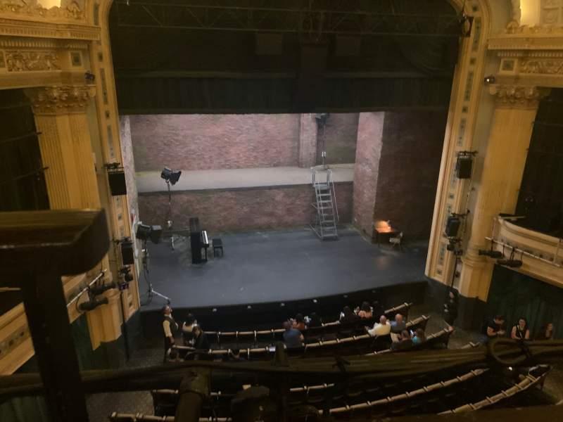 Vista sentada para Hudson Theatre Secção Balcony C Fila A Lugar 101