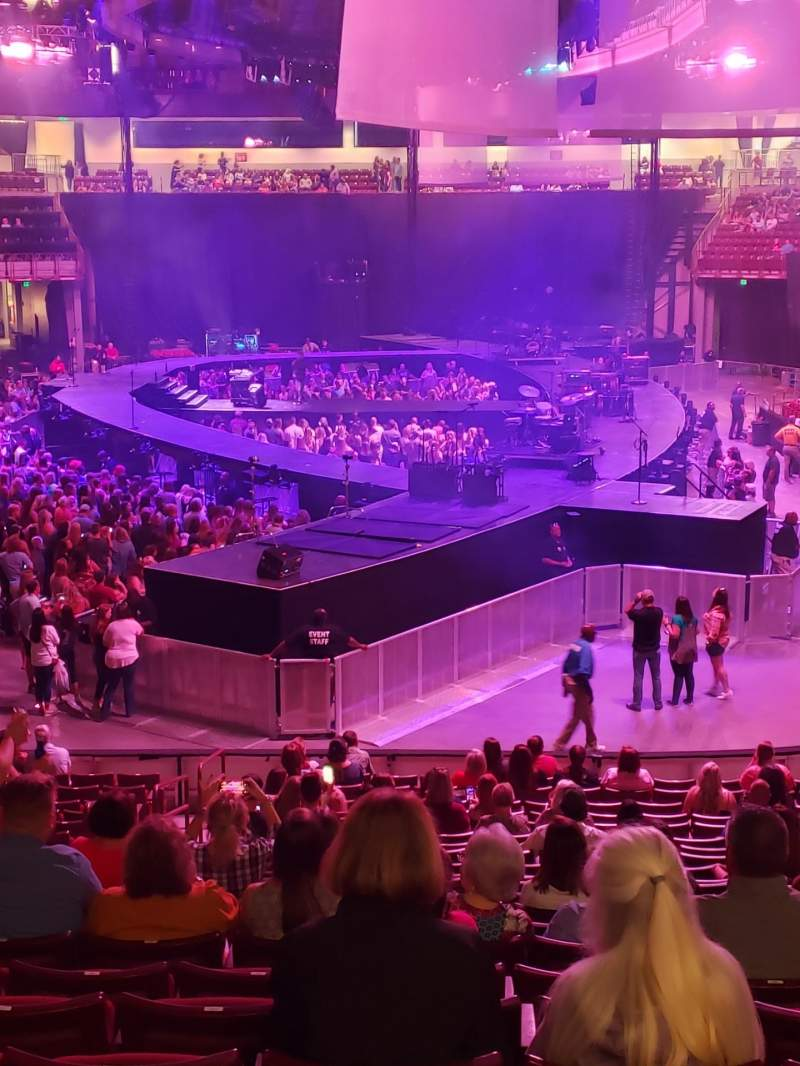 Vista sentada para Colonial Life Arena Secção 118 Fila 22 Lugar 24