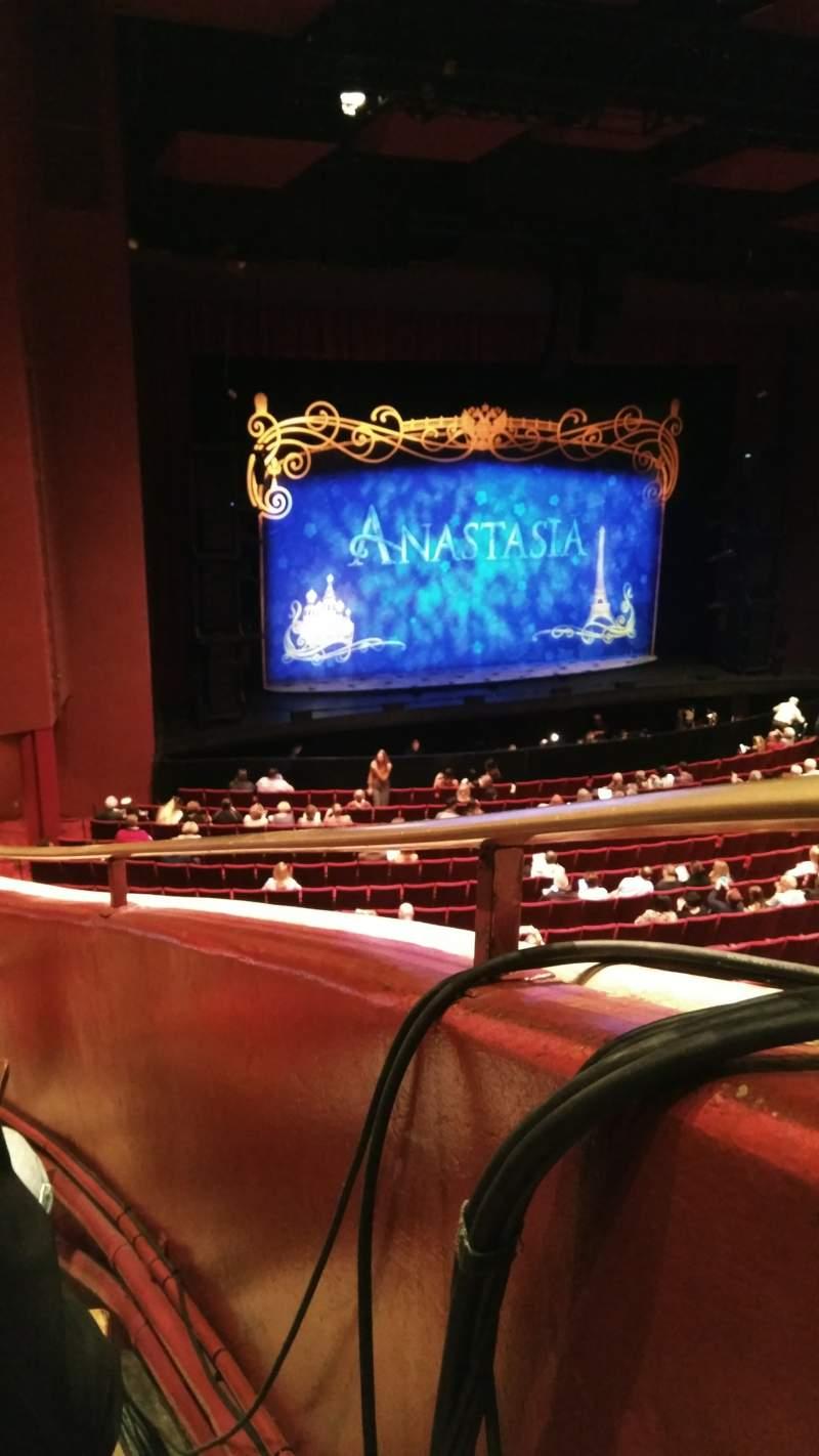 Vista sentada para San Diego Civic Theatre Secção LLOG2 Fila N Lugar 1