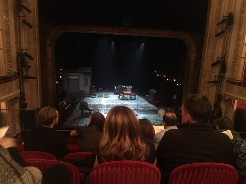 Vista sentada para Royal Alexandra Theatre Secção Dress circle Fila D Lugar 26