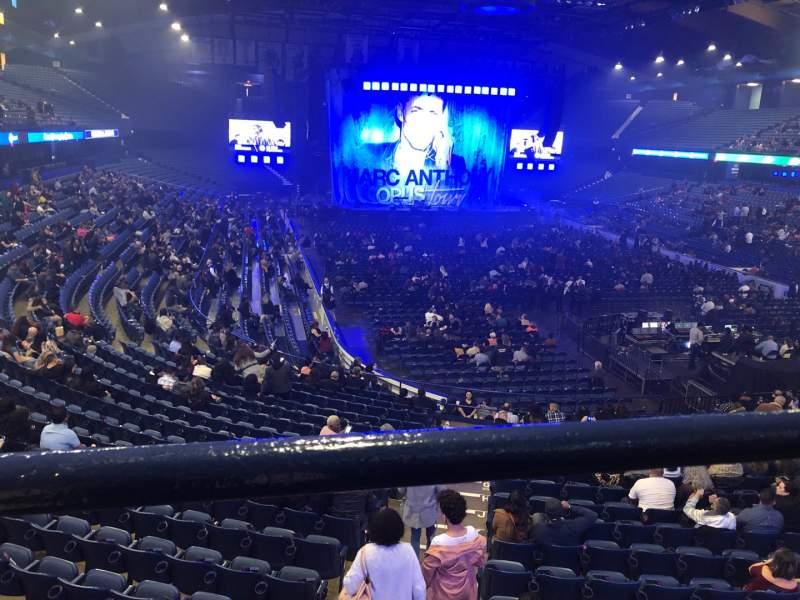 Vista sentada para Allstate Arena Secção 215 Fila A Lugar 34
