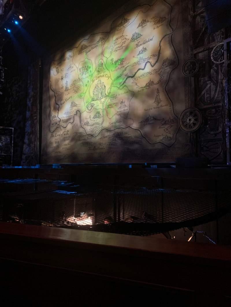 Vista sentada para Fox Theatre (Atlanta) Secção Orchestra RC Fila A Lugar 70