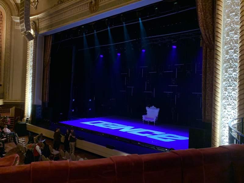 Vista sentada para Genesee Theatre Secção LOGER Fila A Lugar 104