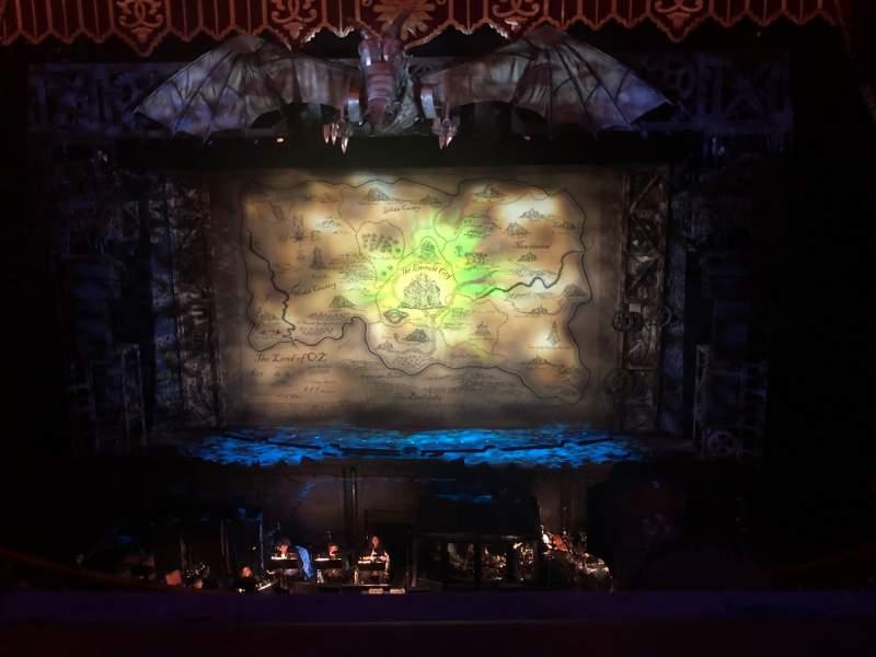 Vista sentada para Fox Theatre (Atlanta) Secção Loge Right A Fila AA Lugar 106