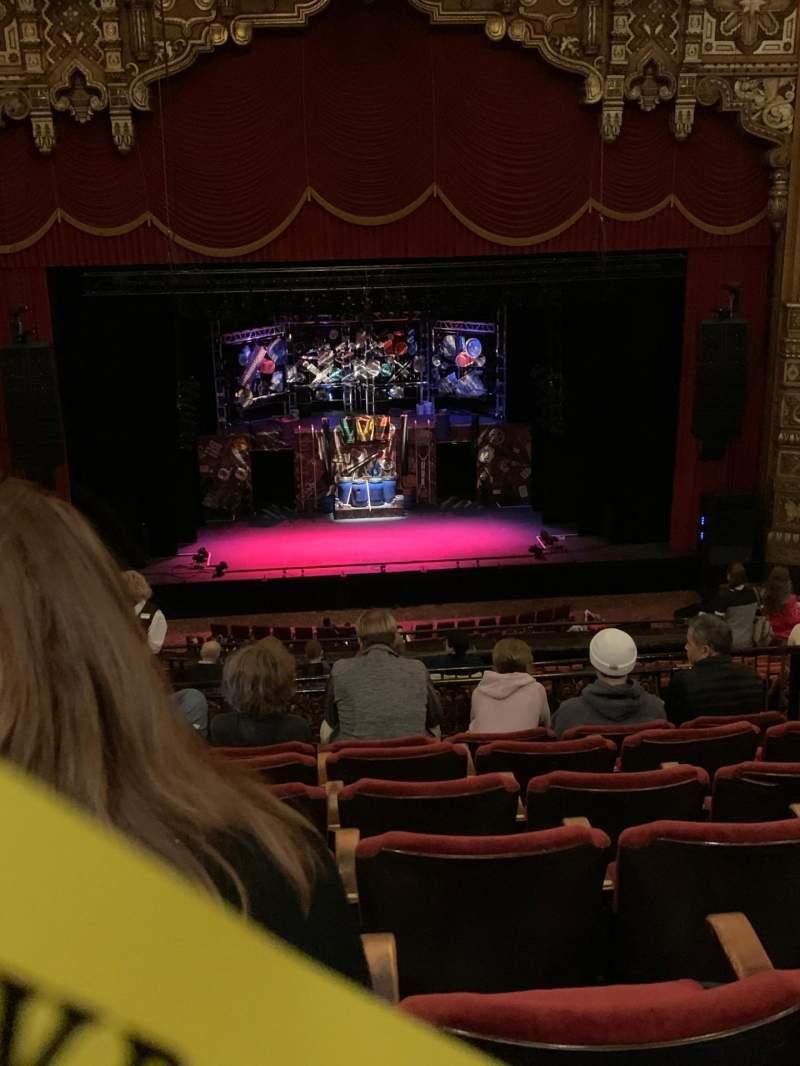 Vista sentada para The Fabulous Fox Theatre (St. Louis) Secção Lower Balcony 3 Fila G Lugar 109