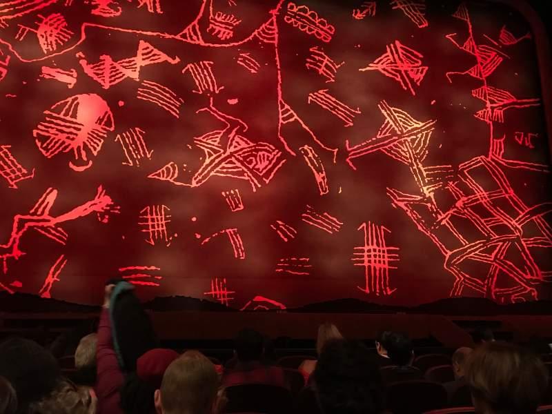 Vista sentada para Minskoff Theatre Secção Orchestra C Fila G Lugar 107