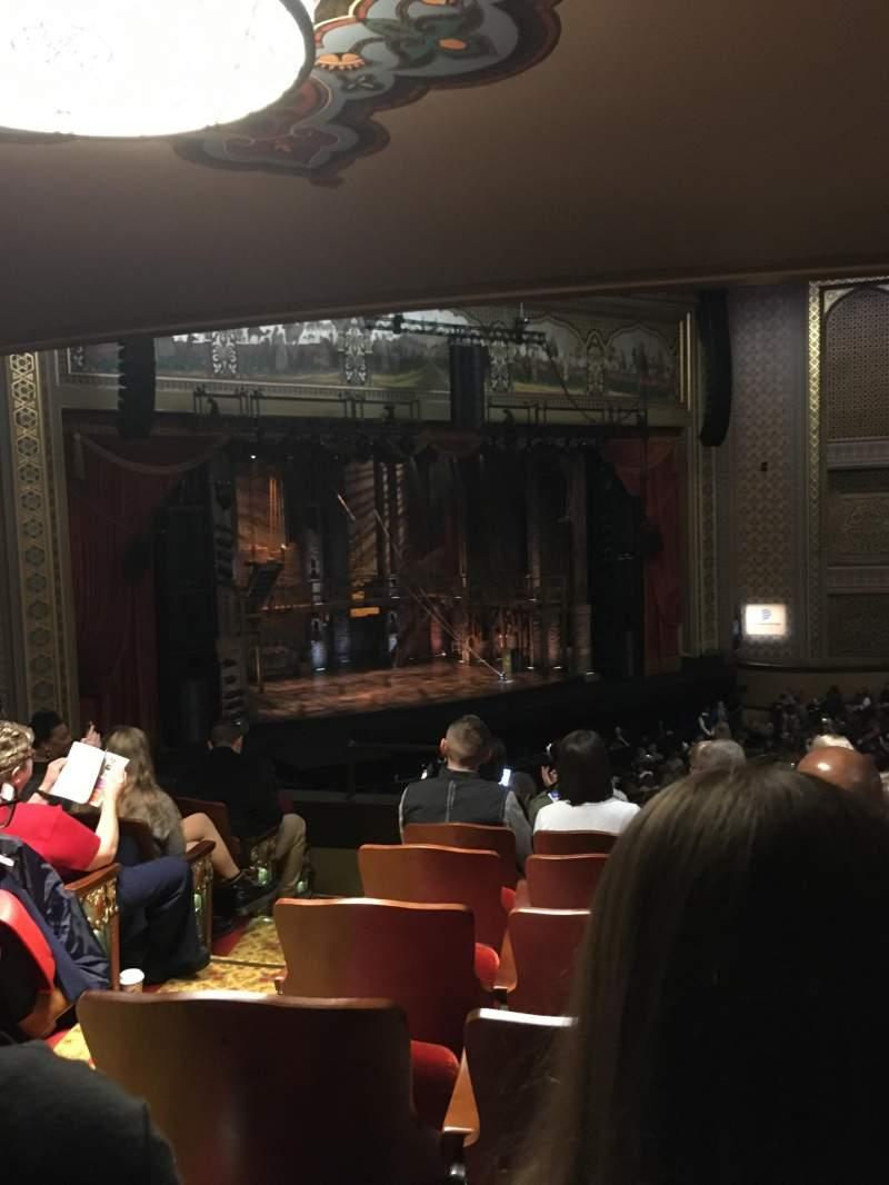 Vista sentada para Altria Theater Secção Grand Tier G Fila H Lugar 711