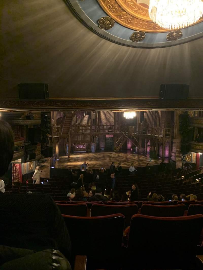 Vista sentada para Richard Rodgers Theatre Secção Orchestra L Fila U Lugar 17