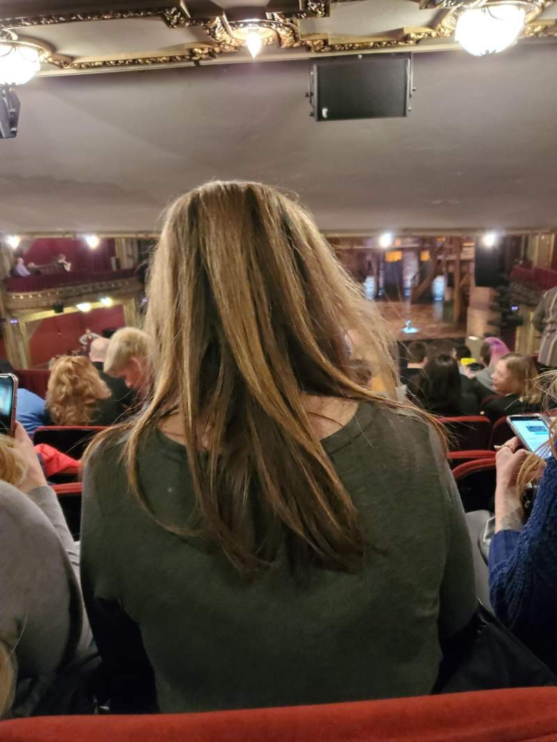 Vista sentada para CIBC Theatre Secção Dress Circle RC Fila G Lugar 234, 232