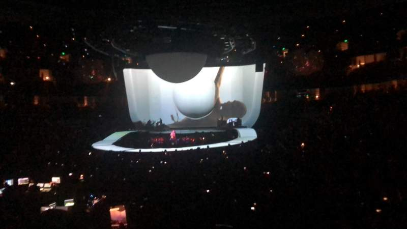 Vista sentada para Honda Center Secção 228 Fila N Lugar 5