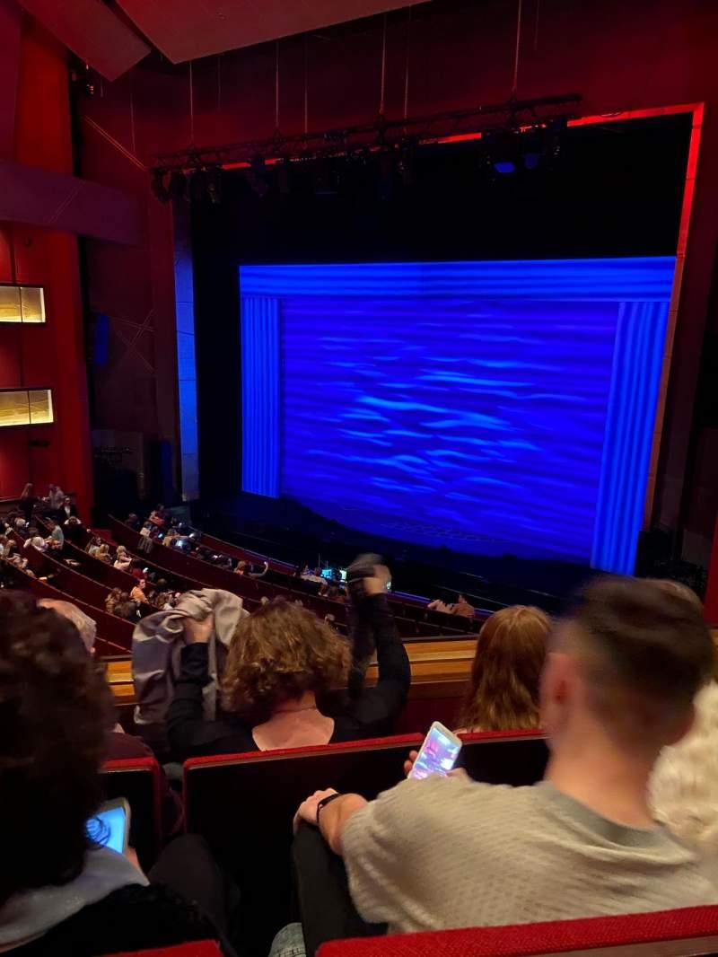Vista sentada para Bord Gáis Energy Theatre Secção Circle Fila C Lugar 50